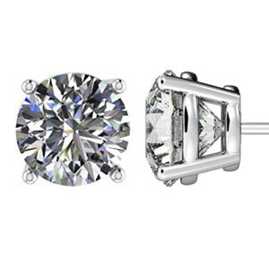 NWT Swarovski Zirconia Martini Style Stud Earrings